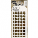 THS100 Stampers Anonymous Tim Holtz Layering Stencil - Dotted